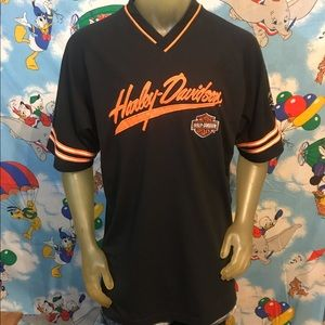 Harley-Davidson Motorcycles Embroidered Jersey XL